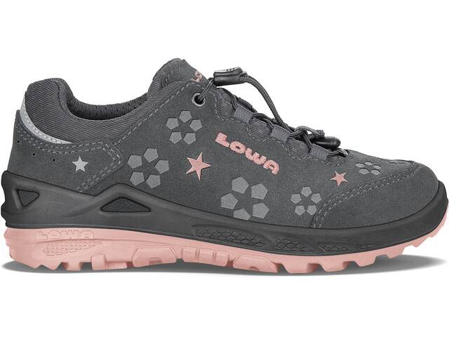 Lowa Marie GTX Low Shoes Mädchen anthracite/rosé